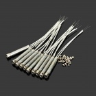 Han Bao 40W Stainless Steel Soldering Heating Iron Cores - Silver (10 PCS)