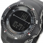 SHORS 783 Sports Water Resistant Rubber Digital Wrist Watch for Men - Black (1 x 626)