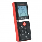MileSeey S2 Handheld 60m Laser Rangefinders Distance Meter Measurement - Black + Red