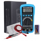 BSIDE ADM01 Auto Range Mini Digital Multimeter w/ Backlight / HZ / Max. Value - Black + Blue