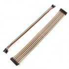 High Quality 26 Pins Data Cables + 8 Pins DuPont Cables for Raspberry PI - Multicolored