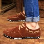 Men's Causal Canvas Shoes - Brown (43)