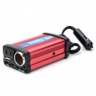 LAMKO CHE PU LP-3200 DIY Car Cigarette Lighter Powered 200W Inverter for for Car - Black + Red