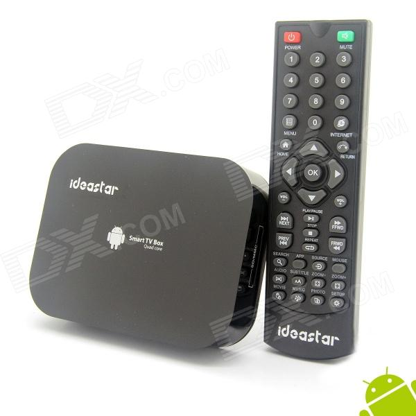 Ideastar A10 Quad-Core Android 4.2.2 Google TV Player w/ 2GB RAM, 8GB ROM, Bluetooth, US Plug dl 17ваза декоративная murano delta