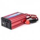 LAMKO CHE PU LP-2200 DIY Car Cigarette Lighter Powered 200W Inverter for for Car - Black + Red