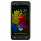 "KIMI N9700 MTK6582 Quad-Core Android 4.2 WCDMA Bar Phone w/ 5"" IPS, 4GB ROM, GPS - Black + Silver"