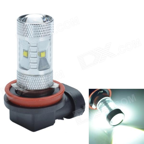 CHETAILANG H11 / H18 30W 480lm 6-LED Blasting Flash + Permanent Bright White Foglight - (12V)