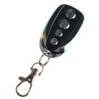 YT14 4-Key Mutual-Duplicating Remote Controller - Black + Silver (1 x 27A)