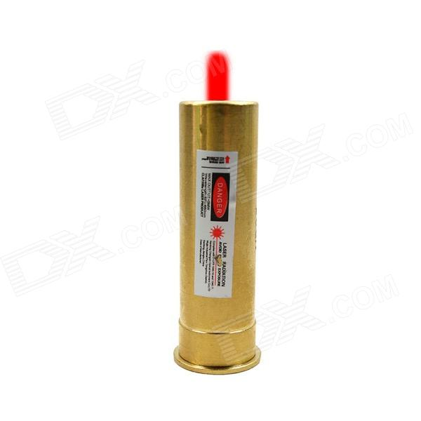 ESDY ESDY-20GA Copper Bullet Red Laser Calibrator Laser Sight (4 x AG13)