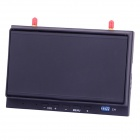 "Sky-702 5.8GHz Diversity 7"" LCD Monitor Receiver w/ Folding Sunshade - Black"