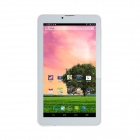 "SOSOON 8 X 7 ""Dual Core Android 4.2.2 Phone Tablet PC w / 512 Mo de RAM, 4 Go de ROM, Bluetooth - blanc"