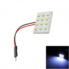 Merdia T10 1W 48lm 12-SMD 3528 LED White Light Reading Lamp (12V)
