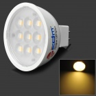 ZDM ZDM-MR164W9P-A12-P GU5.3 4W 300lm 3200K 9-2835 SMD LED Warm White Light Lamp - White