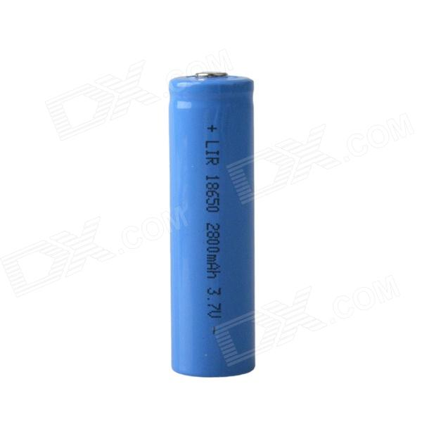 Rechargeable 3.7V 600mAh 18650 Li-ion Battery - Blue 5pcs 1s 3 2v 18650 li ion lithium iron phosphate battery protection board 2a with overcharge overdischarge protection