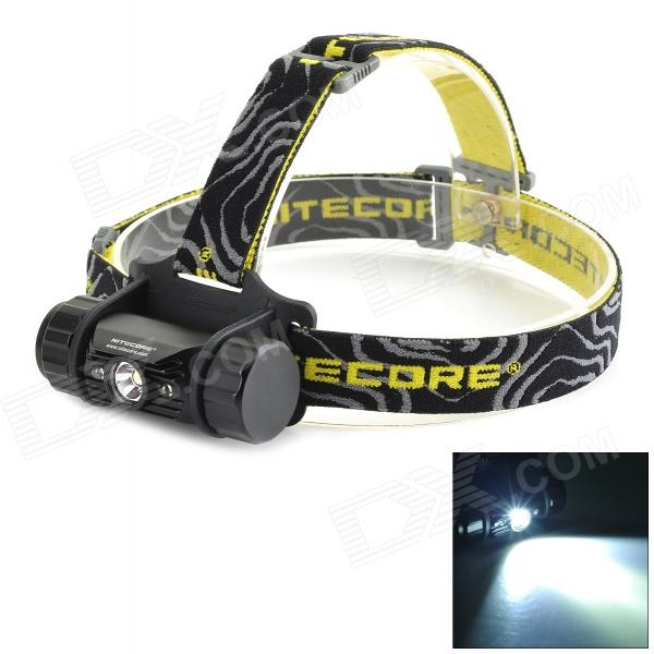NITECORE HC50 LED 565lm 5-Mode Cool White + Red Light Scheinwerfer - Schwarz + Gelb