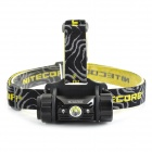 NITECORE HC50 LED 565lm 5-Mode Cool White + Lampe rouge-Noir + Jaune