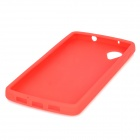 Protective Silicone Back Case for LG Nexus 5 - Red