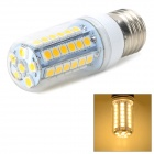 Fengyangdengshi 018 E27 9W 270LM 3000K Warm White 48-5050 SMD LED Corn Lamp - White + Yellow