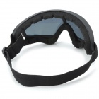 Stylish Sports UV400 Protection Skiing Goggles - Black