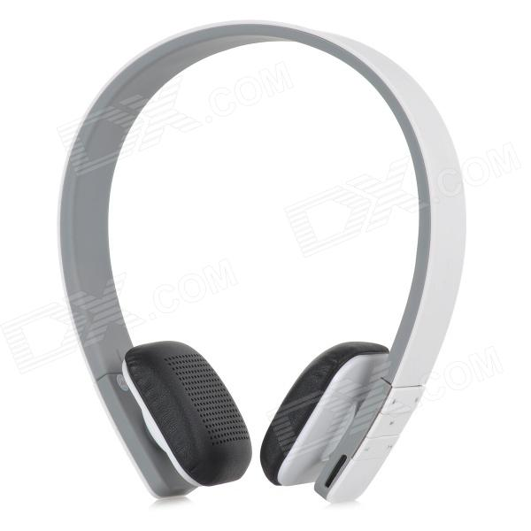 LC-8300 MP3 + FM + Voice Recorder + Card Reader Multifunctional Headband Earphone - White + Grey lc 37hc40 lc 37hc56 cpt 370wf02c used disassemble