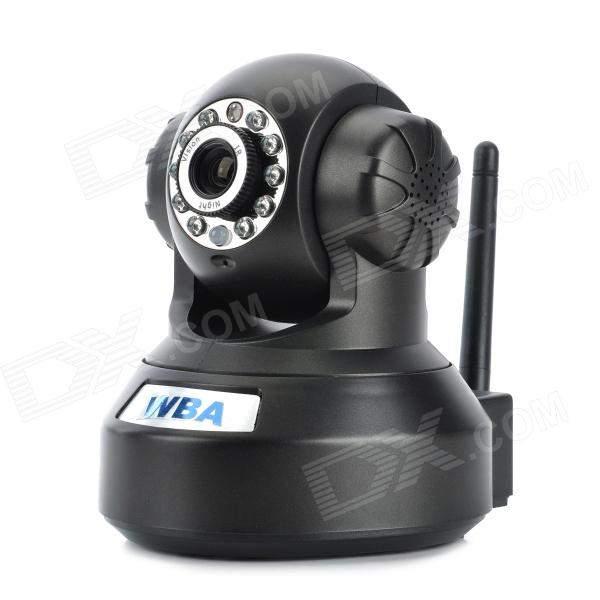 WBA ES6501WID 1.3MP 802.11b/g IP Camera w/ 11-LED + TF - Black + Silver