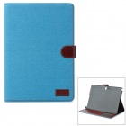 Fashion Protective Flip Open PU Leather Case w/ Stand / Card Slots for Samsung Galaxy Note 10.1 P600