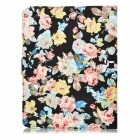 Protective Flip Open PU Leather + Plastic Case w/ Stand / Card Slots for IPAD 2 / 3 / 4