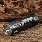 SUNWAYMAN T45C Cree XM-L2 T6 980lm 8-Mode White Flashlight - Black + Silver (2 x 18650)