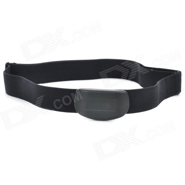 Sportguard SP-06 5.3K Wireless Adjustable Heart Rate Belt - Black (1 x CR2032)