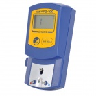 "FG-100 1.75"" Screen Soldering Iron Thermometer Set - Blue + Yellow"