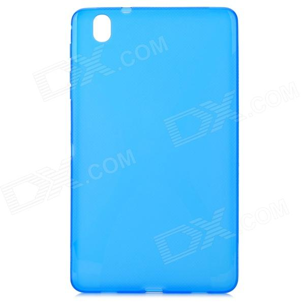 ''X'' Shaped Anti-skid Protective TPU Back Case for Samsung Galaxy Tab Pro 8.4 T320 - Blue
