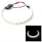 Water Resistant 18-LED Decorative Light Strip for Computer Case / Box - White (30cm)