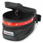Acacia 0411301 3-Mode Bike Saddle Bag m / Alarmlampen - Svart + Red