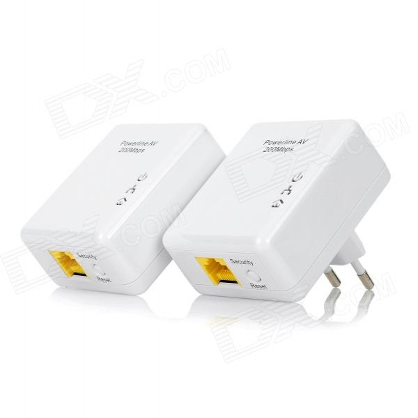 Lafalink PL201M 200Mbps EU Plug Powerline Network Power Adapter