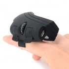2.4G Wireless Ring Style LED Mouse - Black