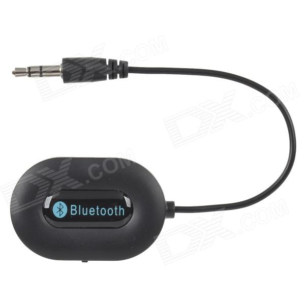 BM-E9 Bluetooth Audio Receiver w/ Hands-Free / 3.5mm - Black + BlueOther Bluetooth Devices<br>Form ColorBlackModelBM-E9MaterialPlasticQuantity1 DX.PCM.Model.AttributeModel.UnitShade Of ColorBlackBluetooth VersionBluetooth V3.0Operating Range5~8mStandby Time80 DX.PCM.Model.AttributeModel.UnitApplicable ProductsPS3,IPHONE 5,IPHONE 4,IPHONE 4S,IPHONE 3G,IPHONE 3GS,IPOD,IPAD,Others,Cell phone and computer with Bluetooth functionBattery TypeLi-polymer batteryBuilt-in Battery Capacity 110 DX.PCM.Model.AttributeModel.UnitPower AdapterOthers,mini USBPower Supply5V / 500mAOther FeaturesStandard 3.5mm plug, directly connect speaker; Bluetooth v3.0 + EDR; Supports HSP / HFP / A2DP protocols; Supports hands-freePacking List1 x 3.5mm Bluetooth receiver (14cm)1 x USB charging cable (40cm)<br>