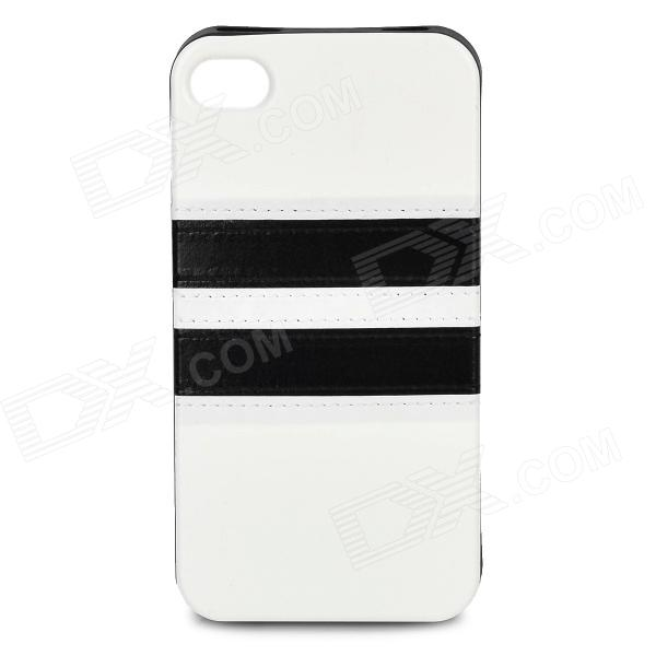 hhec-262-protective-pu-leather-mix-color-back-case-for-iphone-4-4s-white