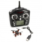 Wltoys V272 Mini 4-CH 2.4GHz Four-axis Radio Control R/C Flying Saucer w/ Gyro - Black