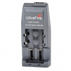 UltraFire 139 4.2V 450mA 2-Slot 18650 / 14500 / 17670 / 18500 / 17500 Li-ion Battery Charger - Black