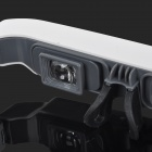 Convenient Video Glasses Mobile Theater - White