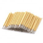 LSON P50-B1 Gold-plated Copper Pogo Pins - Golden (100 PCS)
