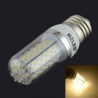 HZLED E27 5.5W 350lm 3000K 120-SMD 3014 LED Warm White Corn Light - White (AC85~265V)