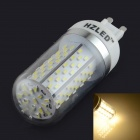 HZLED G9 5.5W 350lm 6000K120-SMD 3014 LED White Corn Light - White (AC 85~265V)