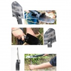 HX Outdoors D-307 Multifunction Sappers Shovel - Black + White