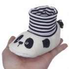Cute Panda Cartoon High Collar Socks Style Anti-Slip Comfortable Baby Shoes (6~9 Months / Pair)