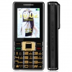 "CHENGHONG Lark Bird D2 Fashion GSM Bar Phone w/ 2.6"" / Bluetooth / Flashlight - Black"