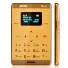 "MOOC M33 Fashion GSM Card Bar Phone w/ 0.98"" / Radio / GPRS - Golden"