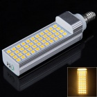 E14 8W 352lm 3000K 44-SMD 5050 LED Warm White Corn Lamp (85~265V)
