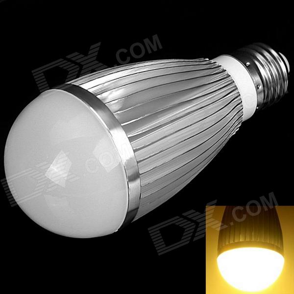 E27 7W 300lm 3000K 15-SMD 5730 LED Warm White Light Bulb (85~265V) cxhexin e27cx24 e27 7w 3000k 500lm 24 5630 smd led warm white light white ac 85 265v