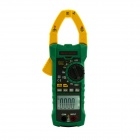MASTECH MS2115A True RMS AC&DC Clamp Meter w/ Non-Contact Voltmeter Function (1 x 6F22)